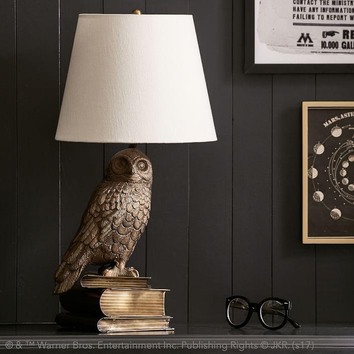Hedwig owl lamp
