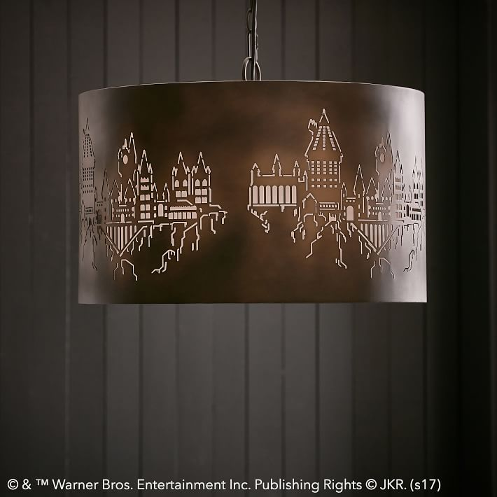 Hogwarts pendant light