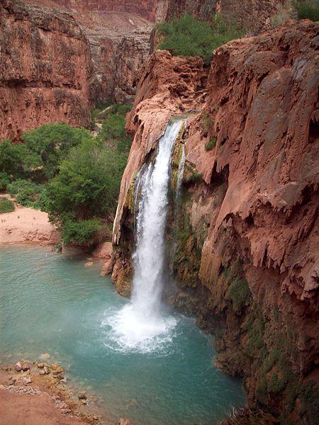 Havsapupai falls arizona