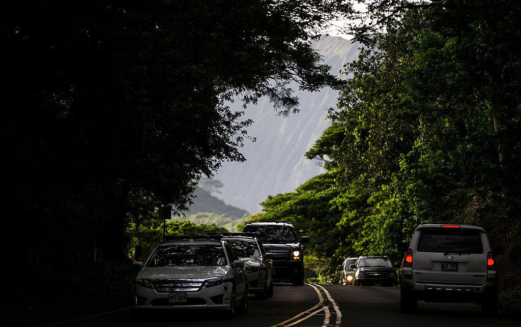Hawaiian road traffic