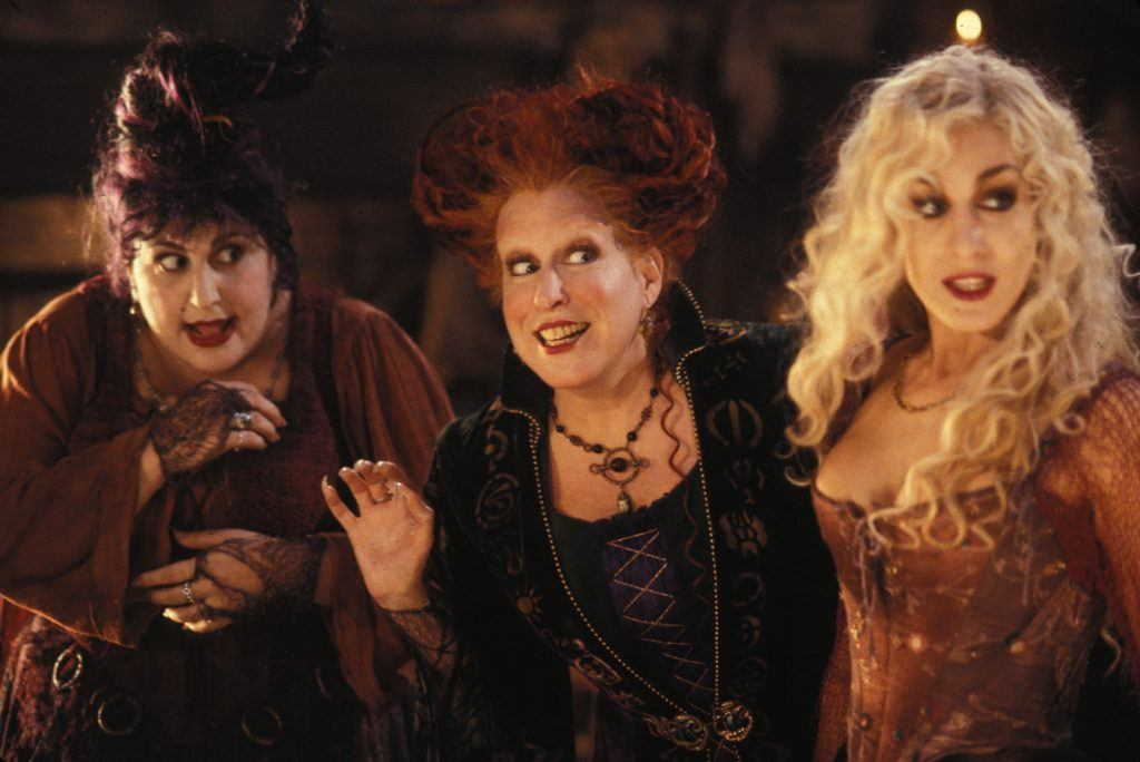 Bette Midler, Sarah Jessica Parker and Kathy Najimy in Hocus Pocus