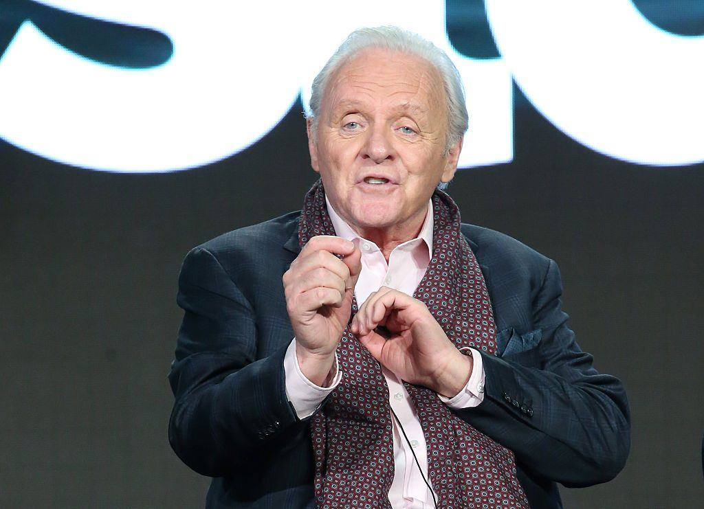 Anthony Hopkins in 2016