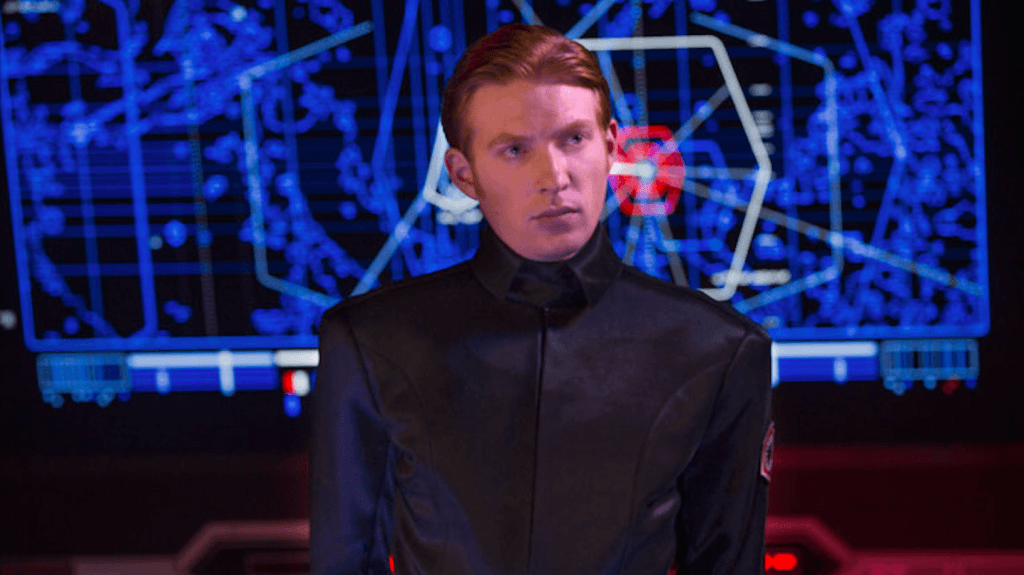 General Hux in Star Wars: The Force Awakens