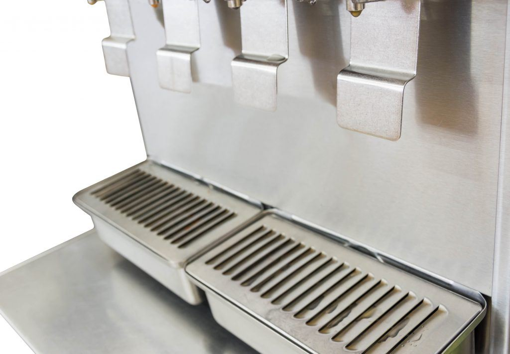 Silver ice maker