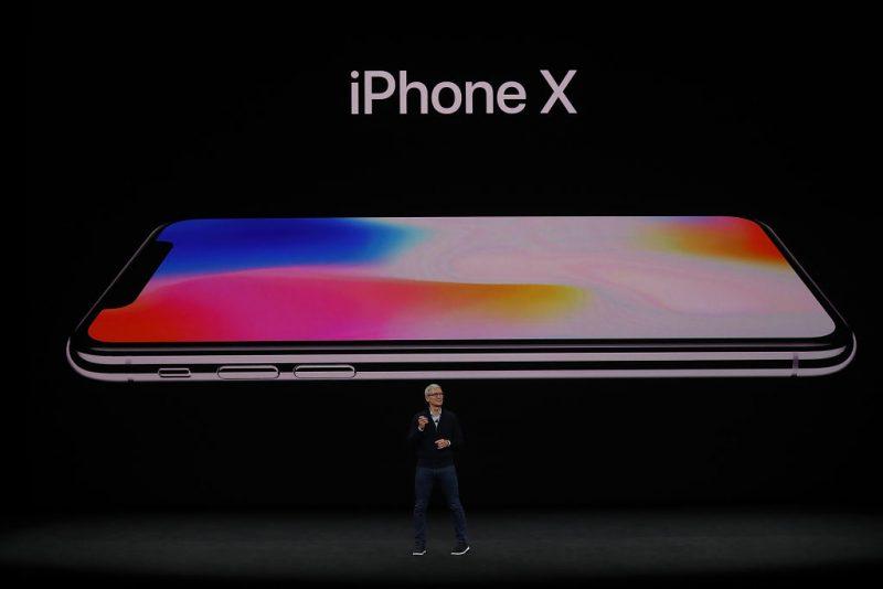 Apple announces the iPhone X