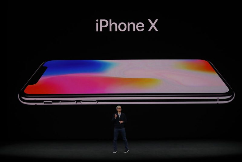 Apple announces the iPhone X