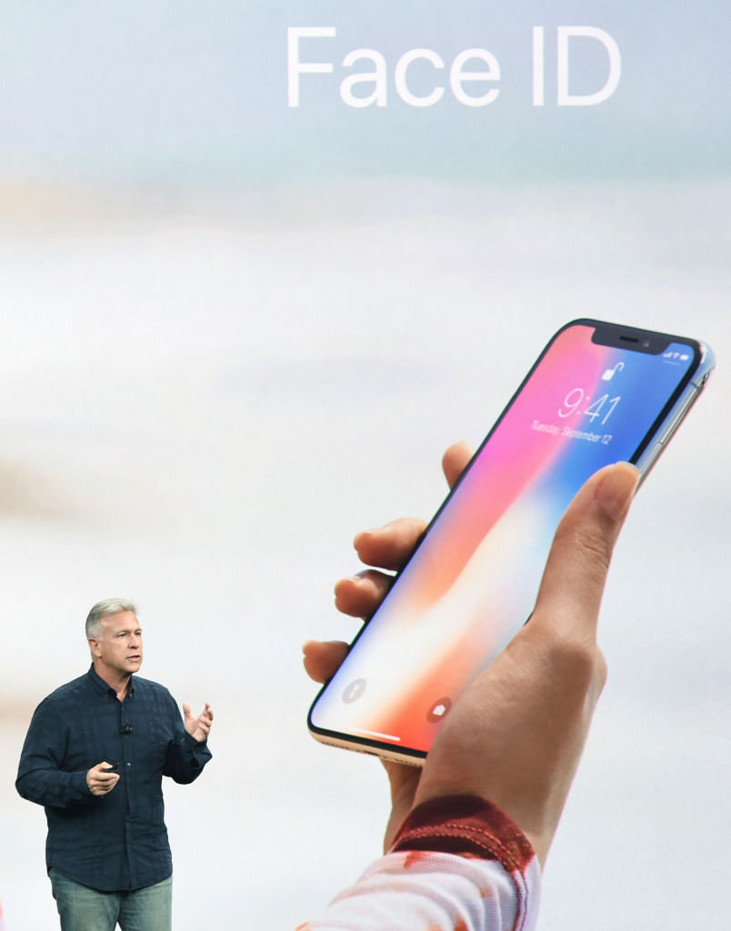 iPhone X face ID launch