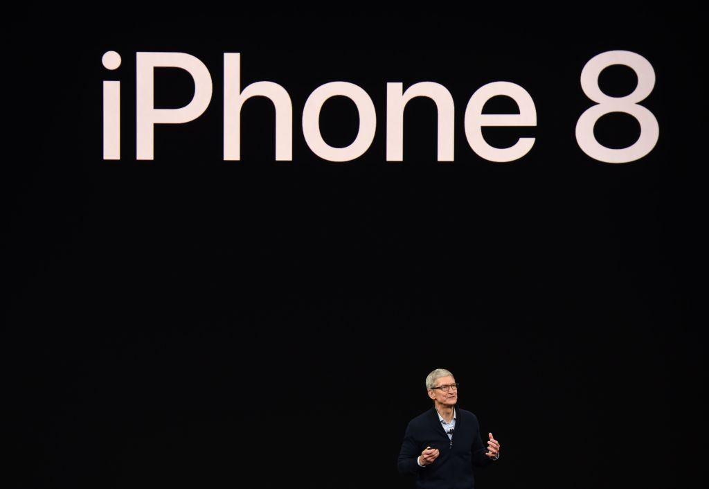 Apple announces the iPhone 8