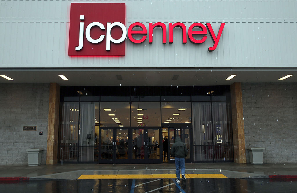 JCPenney storefront