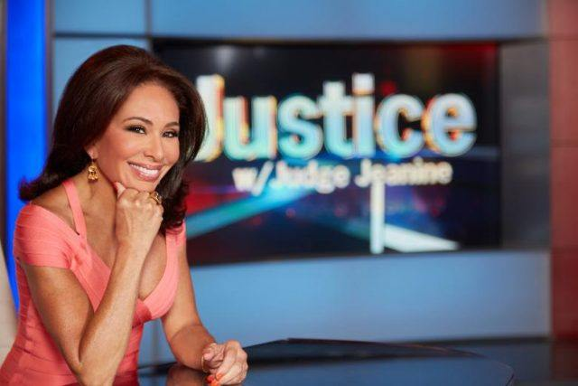 Judge Jeanine Pirro on 'Justice with Judge Jeanine'.