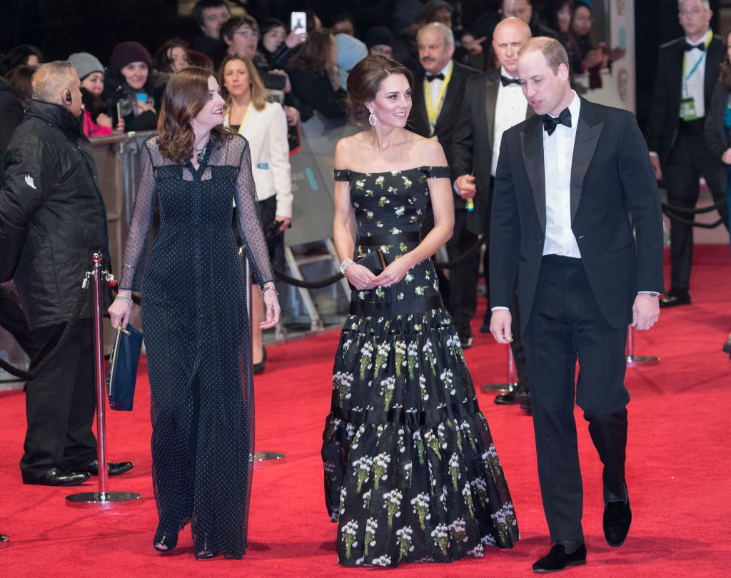 Kate Middleton and Prince William Bafta Awards