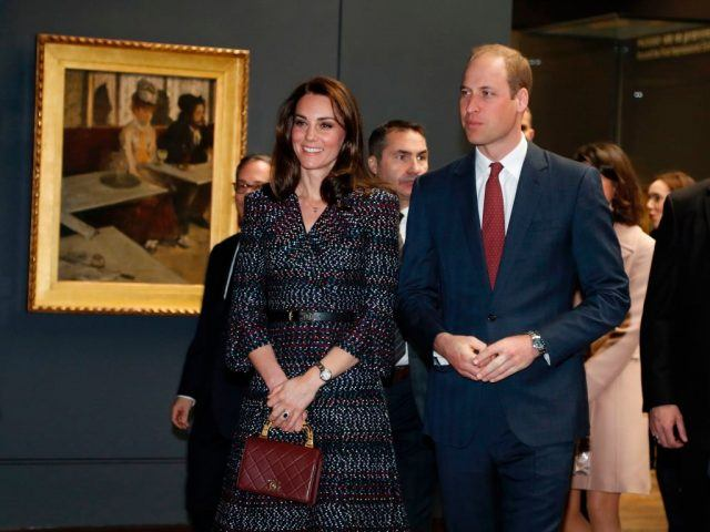 Kate Middleton and Prince William in Paris.