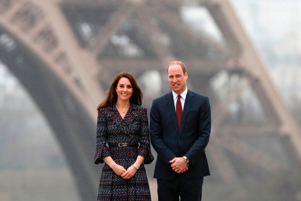 Kate Middleton and Prince William in Paris