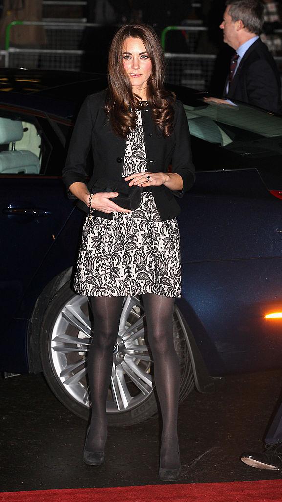 Kate Middleton at a concert
