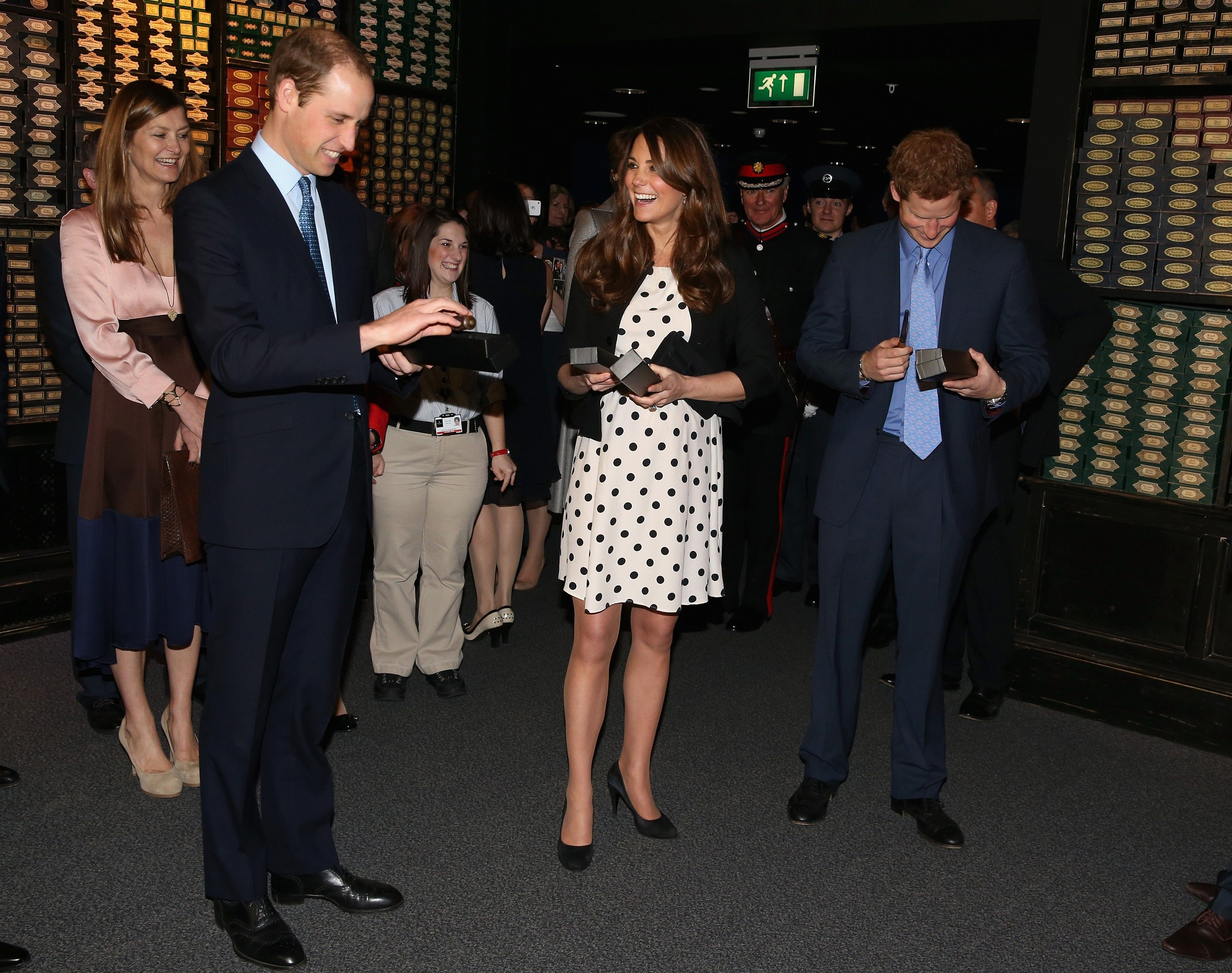 Kate Middleton Harry Potter Studios