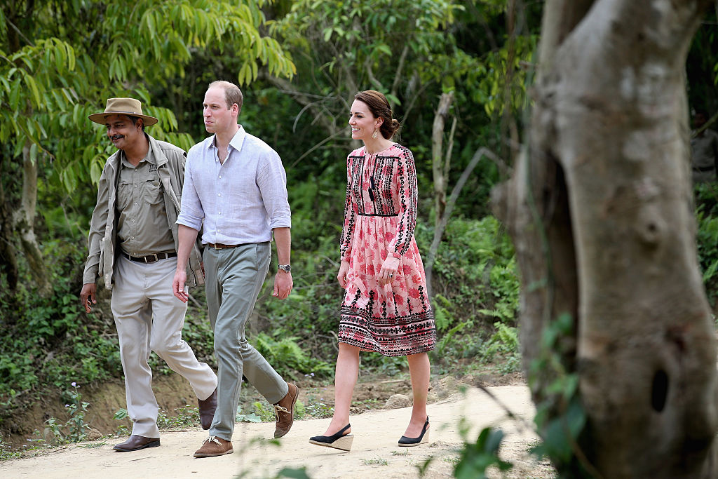 Kate Middleton dress in India