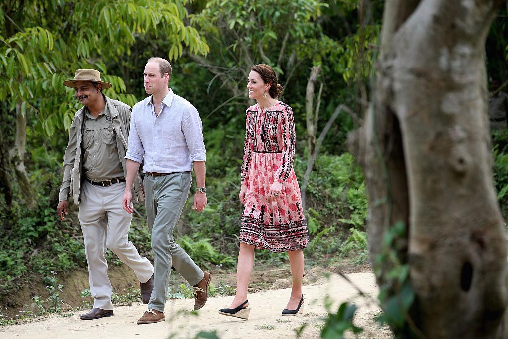 Kate Middleton dress in India