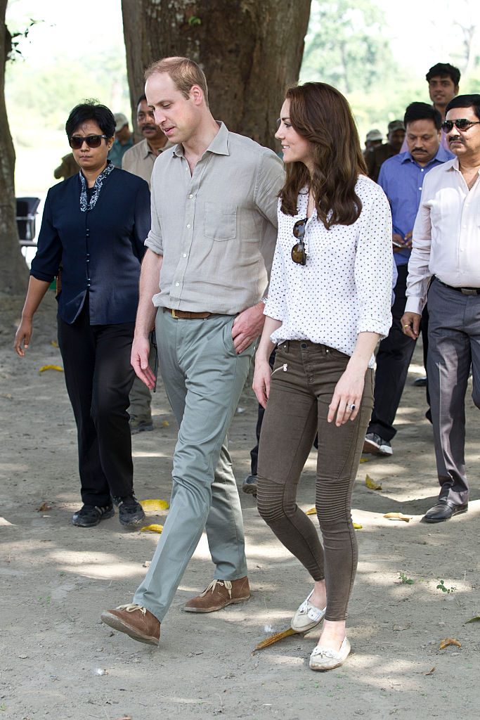 Kate Middleton on Indian game drive