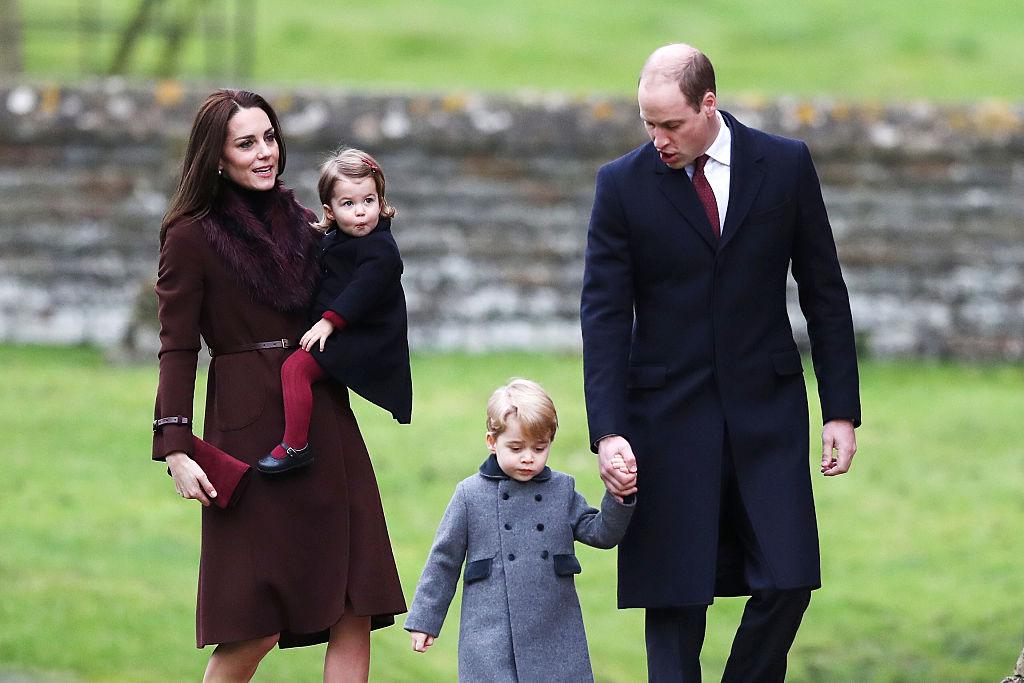 Kate Middleton church christmas