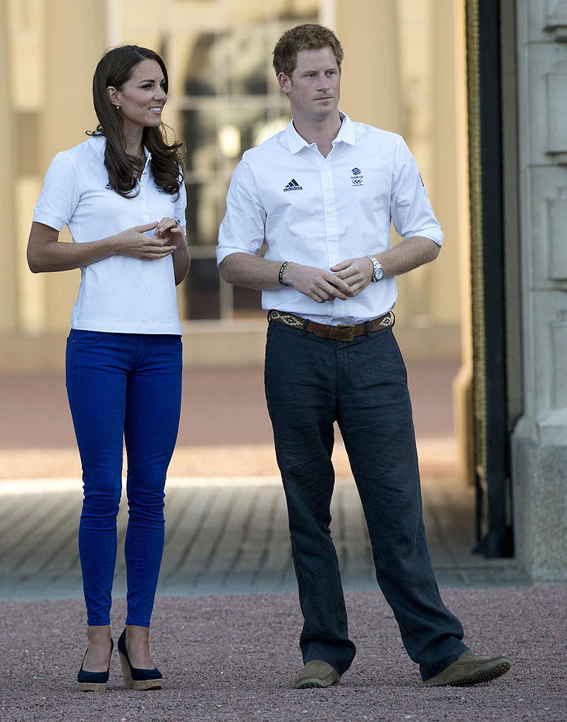 Kate Middleton Olympic Torch ceremony