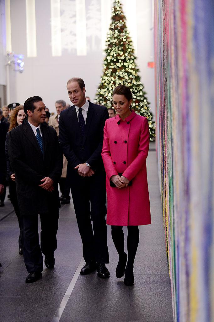 Kate Middleton Pink peacoat