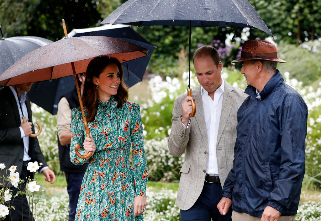 Kate Middleton in the gardens