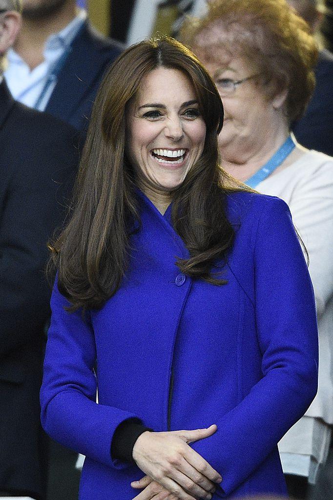 Kate Middleton Blue Coat