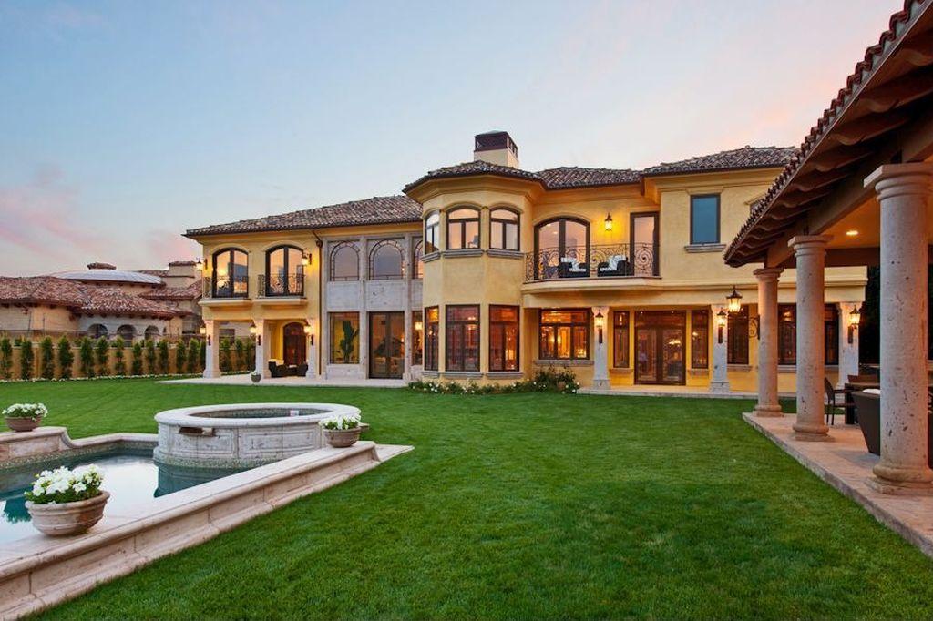 Kim and Kanye Beverly Hills Mansion