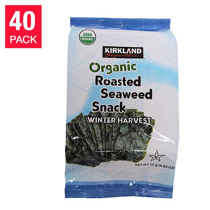 Kirkland Roasted Seaweed