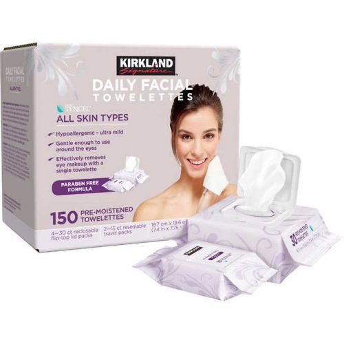 Costco kirkland face wipe