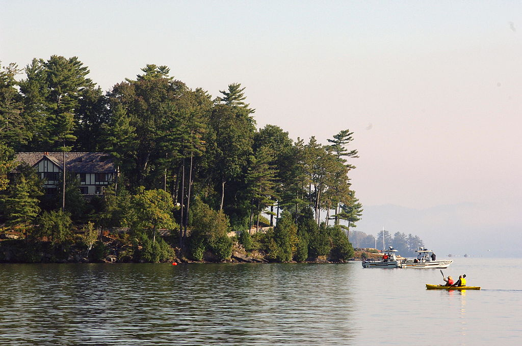 Lake George in New York