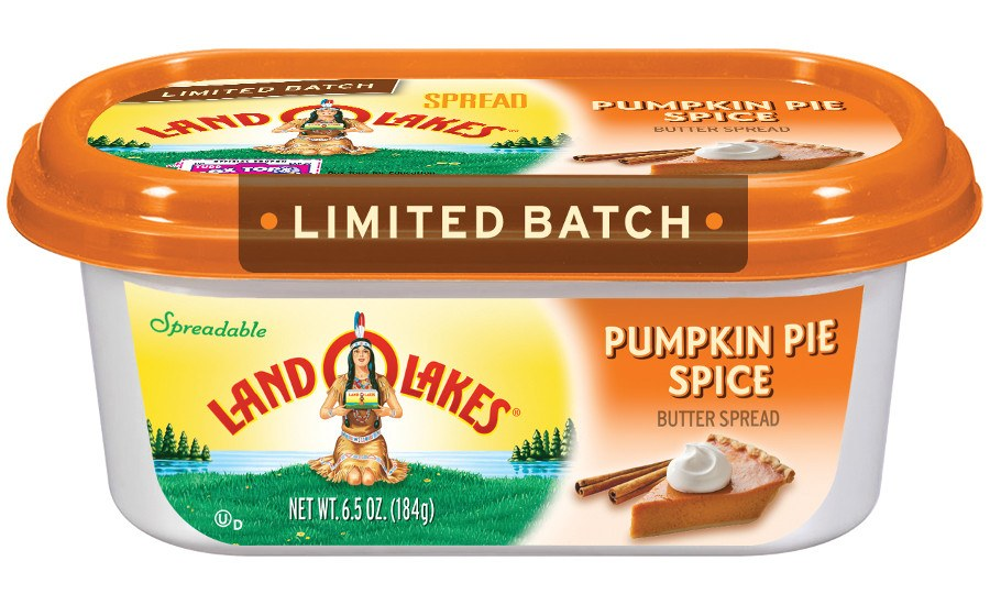Land O' Lakes Pumpkin Pie Spice Spread
