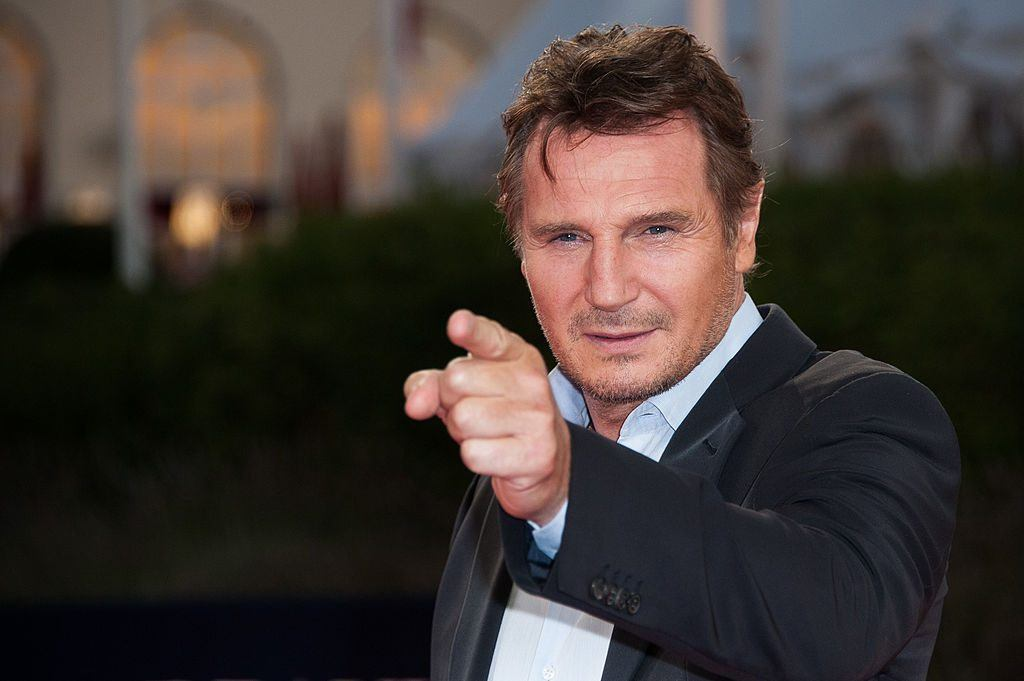 Liam Neeson at a screening of Taken 2