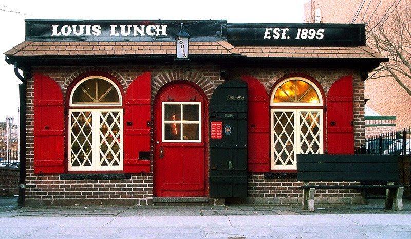 Louis' Lunch burger place