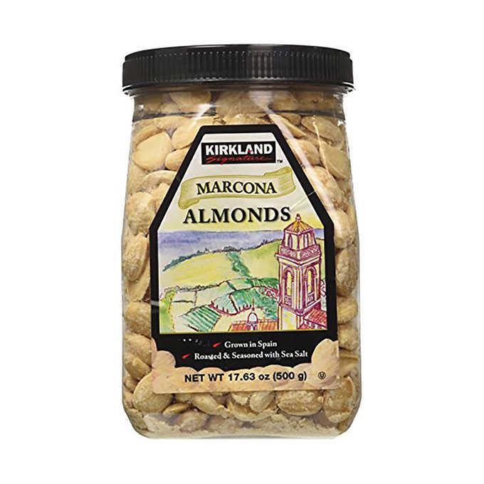Kirkland roasted almonds - 3d print gift