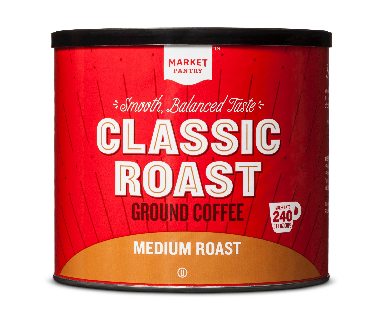 Target Market Pantry coffee