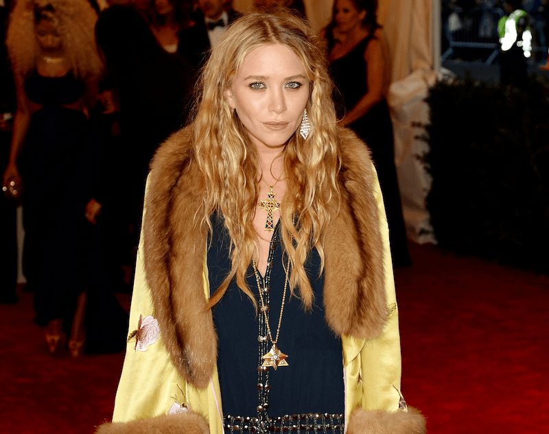 Mary-Kate Olsen attends the Costume Institute Gala for the 'PUNK: Chaos to Couture' exhibition at the Metropolitan Museum of Art on May 6, 2013