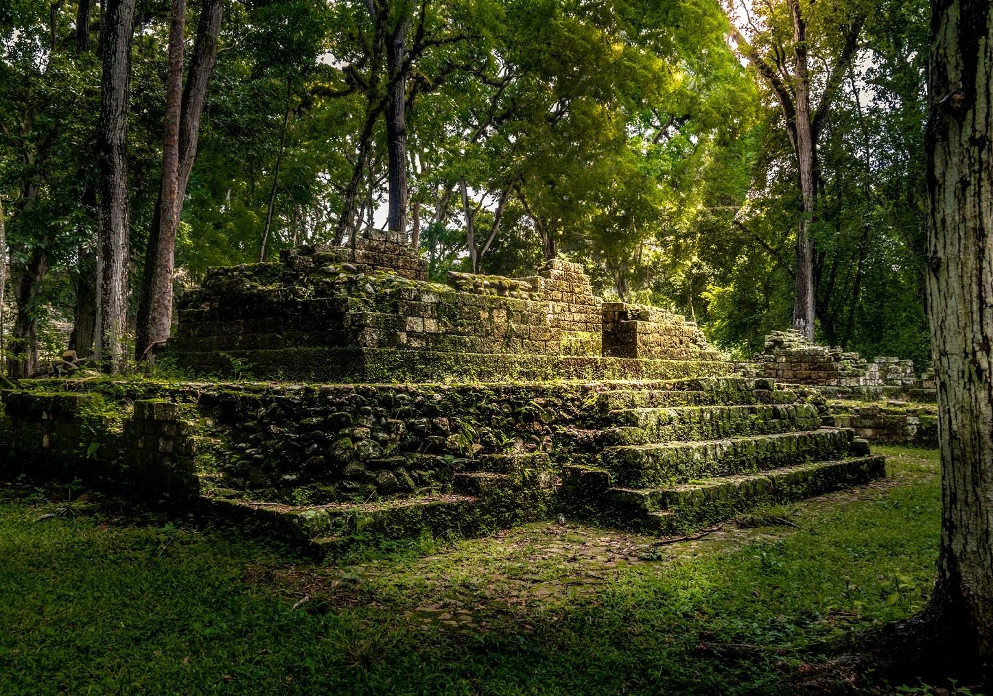 Mayan ruins in Honduras