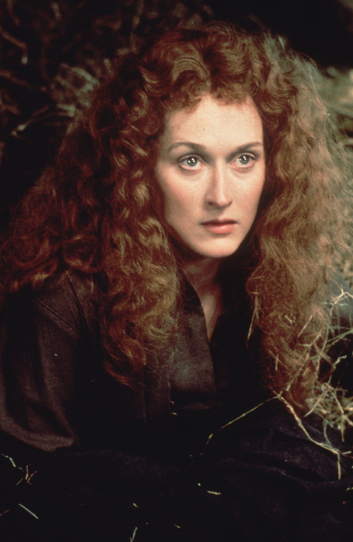 Meryl streep big teased hair
