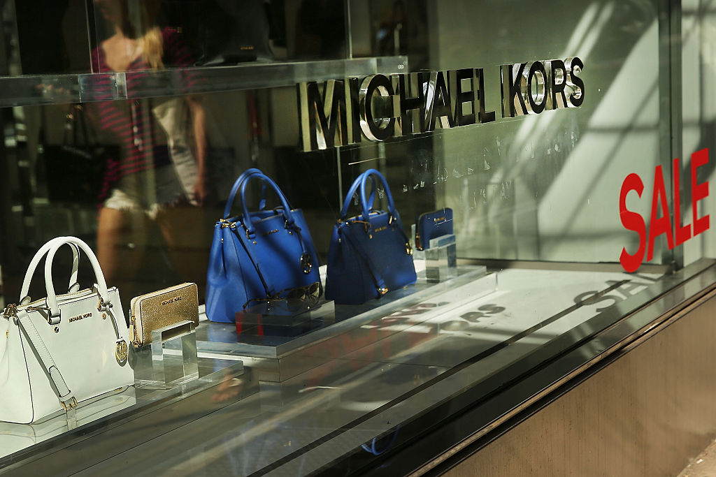 Michael Kors store front