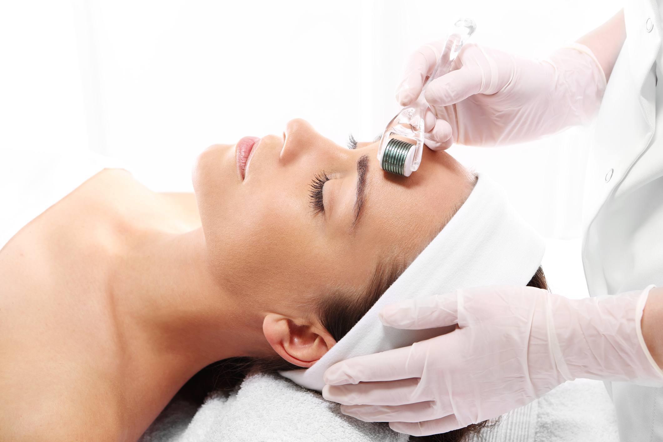 Micro needle treatment