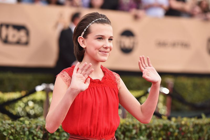 Millie Bobby Brown at the Screen Actors Guild Awards