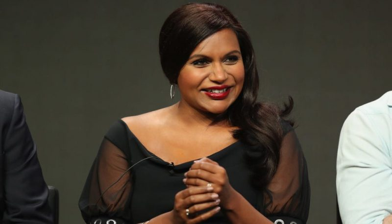 Mindy Kaling in 2017
