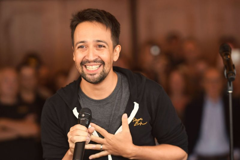 Lin-Manuel Miranda on August 16, 2017