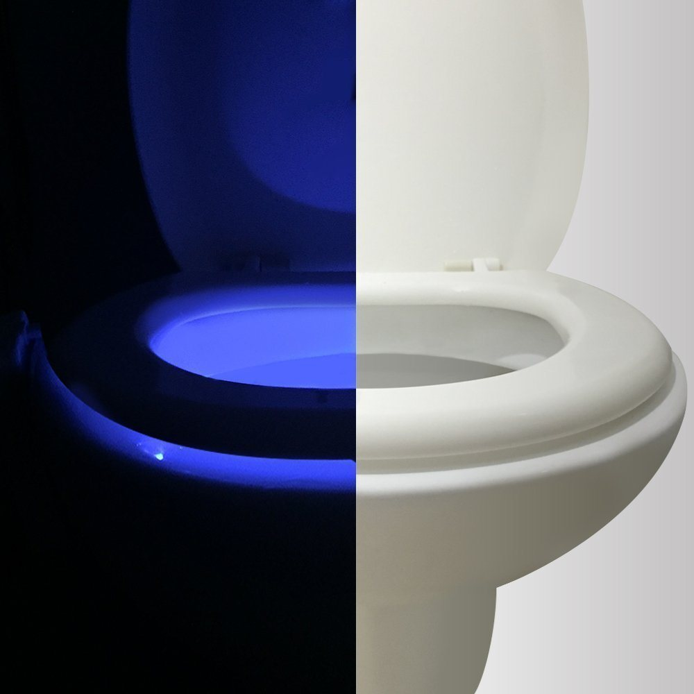 Motion Activated Toilet Night light