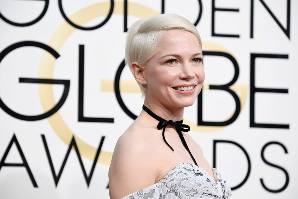 Michelle Williams at the 2017 Golden Globes