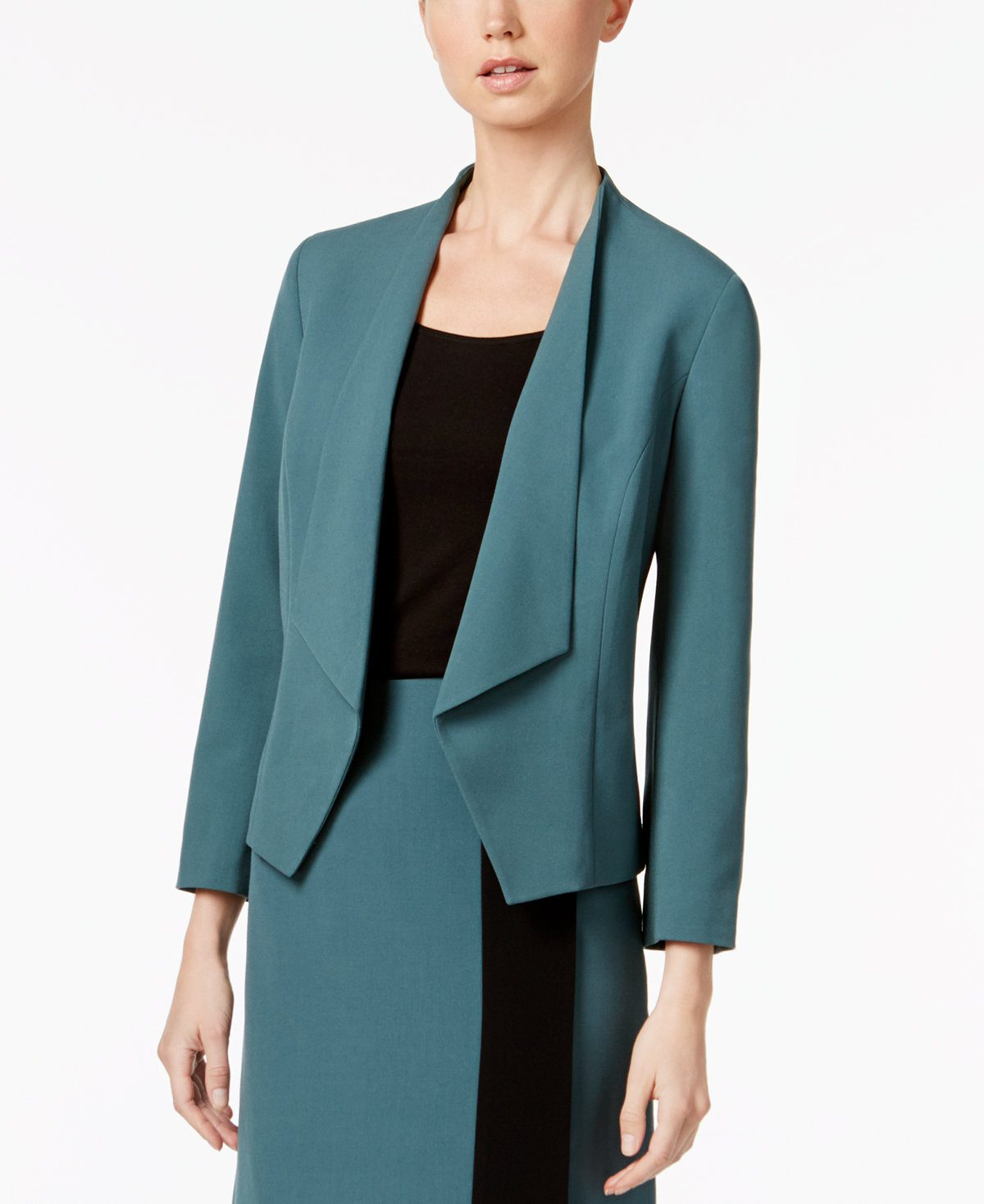 Macy's Nine West Kiss front blazer