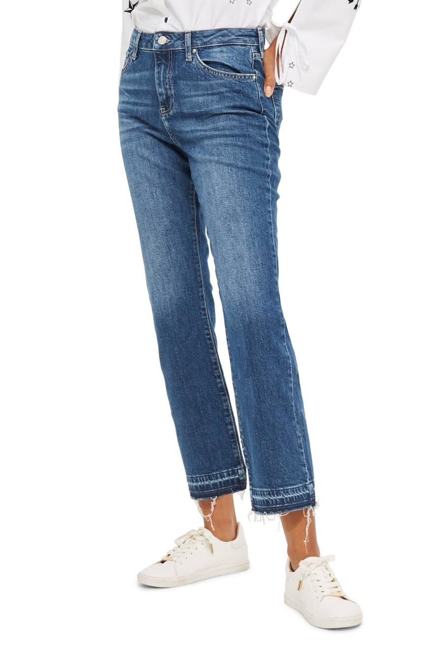 Release hem topshop jeans