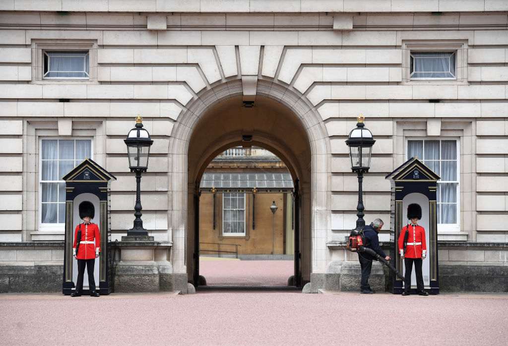 Buckingham palace guards