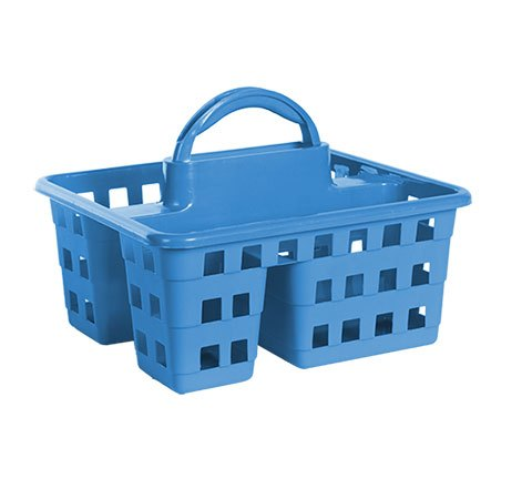 Plastic storage caddy